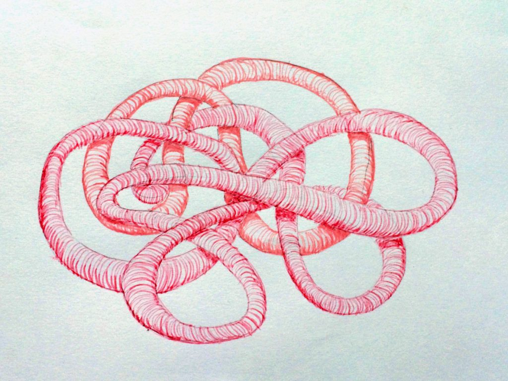 tekening 5: Marjoke vd Plassche